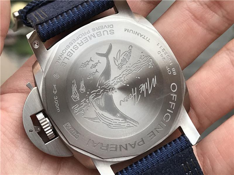 VS厂沛纳海PAM00985腕表对比正品评测