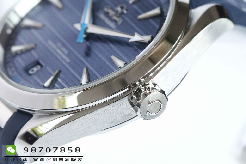 VS厂欧米茄海马150灰蓝面橡胶表带复刻表做工怎么样-埃迪·雷德梅尼明星款