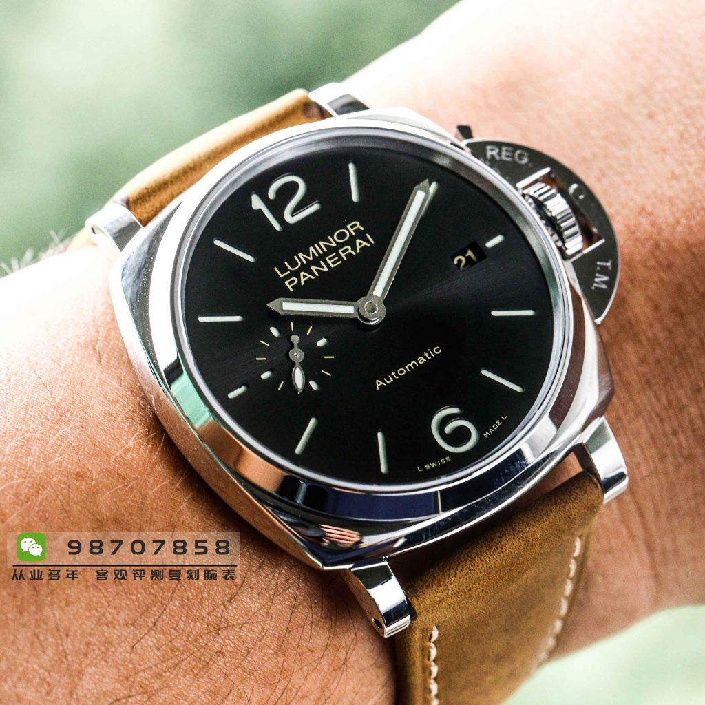 VS厂沛纳海PAM904腕表-崭新的薄式体型
