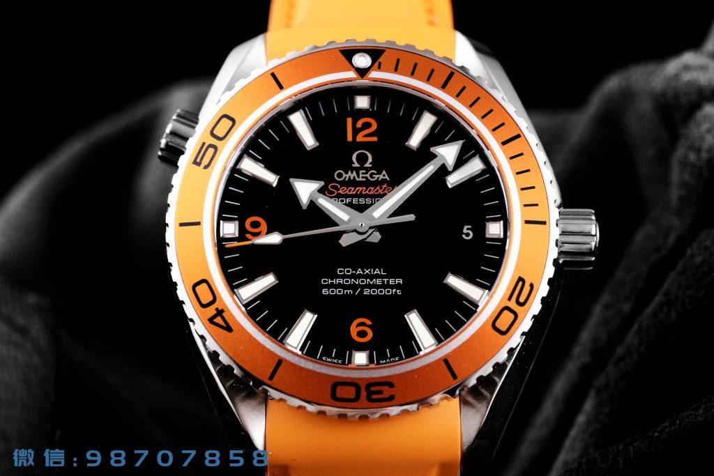 VS厂欧米茄海马600m骚橙圈42MM腕表详细评测