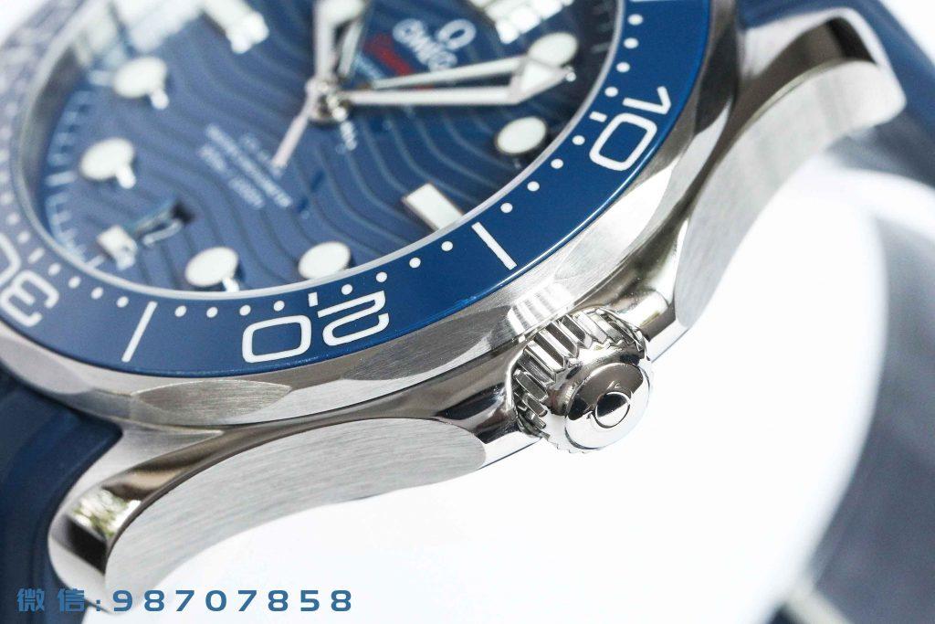 VS厂欧米茄新海马300M蓝盘胶带版深度测评