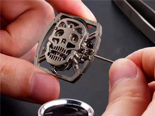 EUR厂理查德米勒RM052骷髅头复刻表深度评测