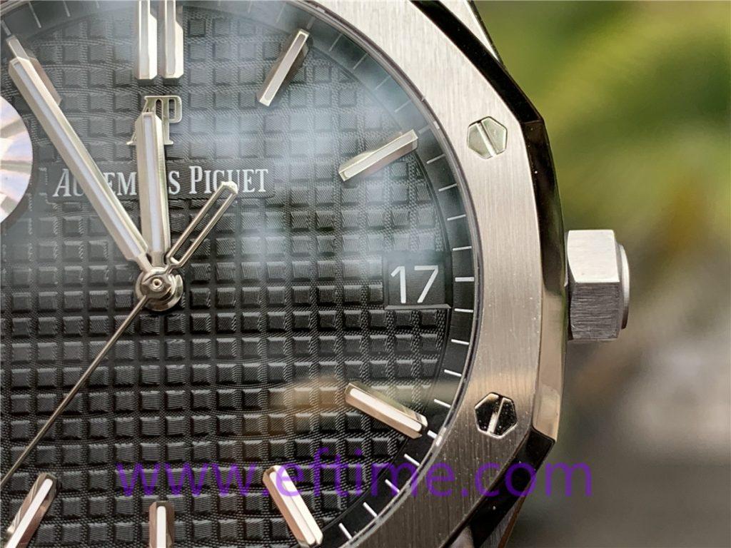 ZF厂爱彼15500复刻表做工评测-实拍展示