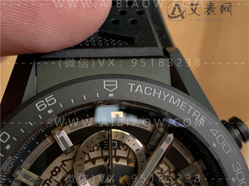 XF厂泰格豪雅卡莱拉黑骑士复刻表评测-XF全新压轴之作