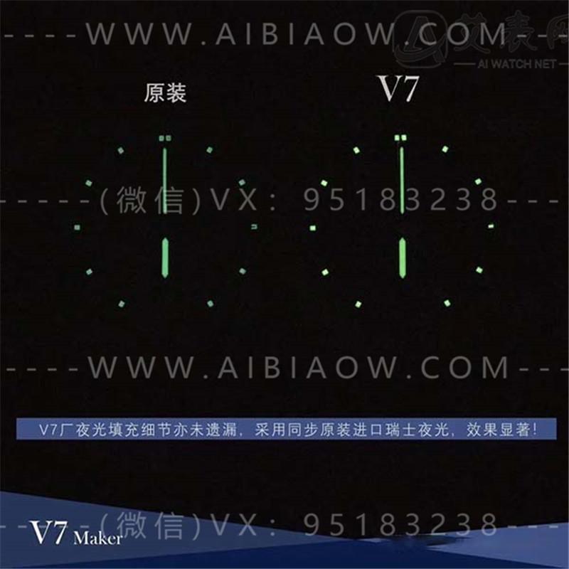 V7厂百年灵航空计时01系列复刻表对比正品评测