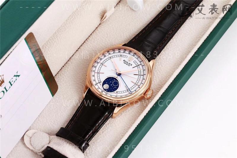 KZ厂劳力士切利尼50535月相腕表值得入手吗