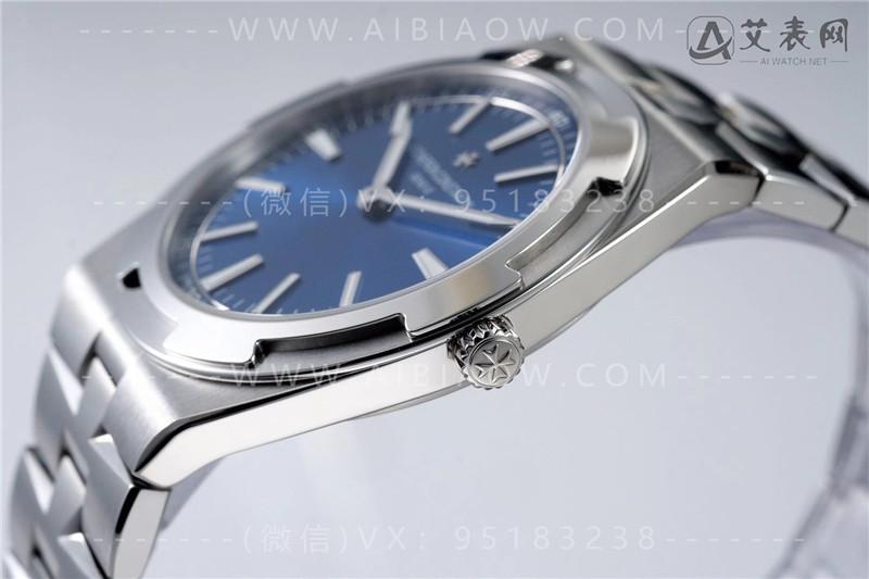 XF厂VC江诗丹顿纵横四海系列2000V骚蓝盘腕表做工怎么样