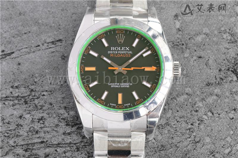 AR厂劳力士闪电针绿玻璃116400腕表值不值得入手