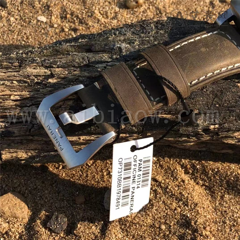 VS厂沛纳海白马王子pam1314白盘腕表评测