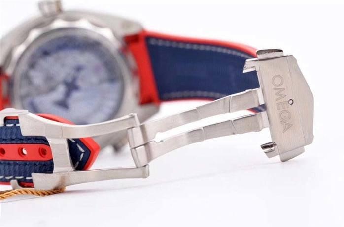 VS厂欧米茄海马系列美洲杯复刻腕表做工细节赏析