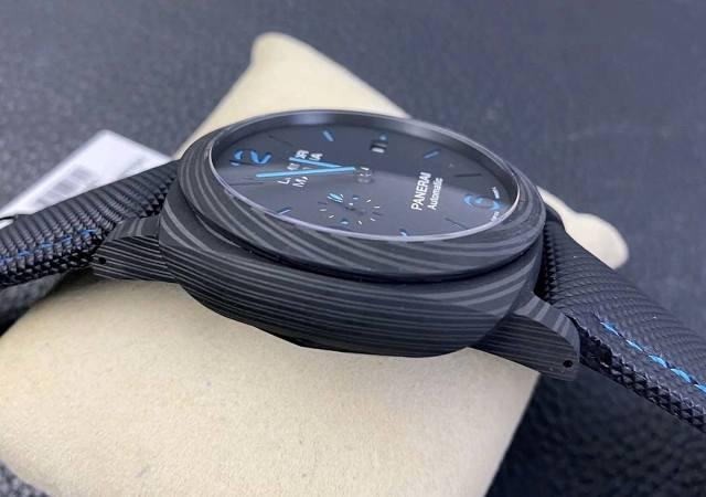 VS厂复刻版沛纳海PAM1661碳纤维材质腕表赏析